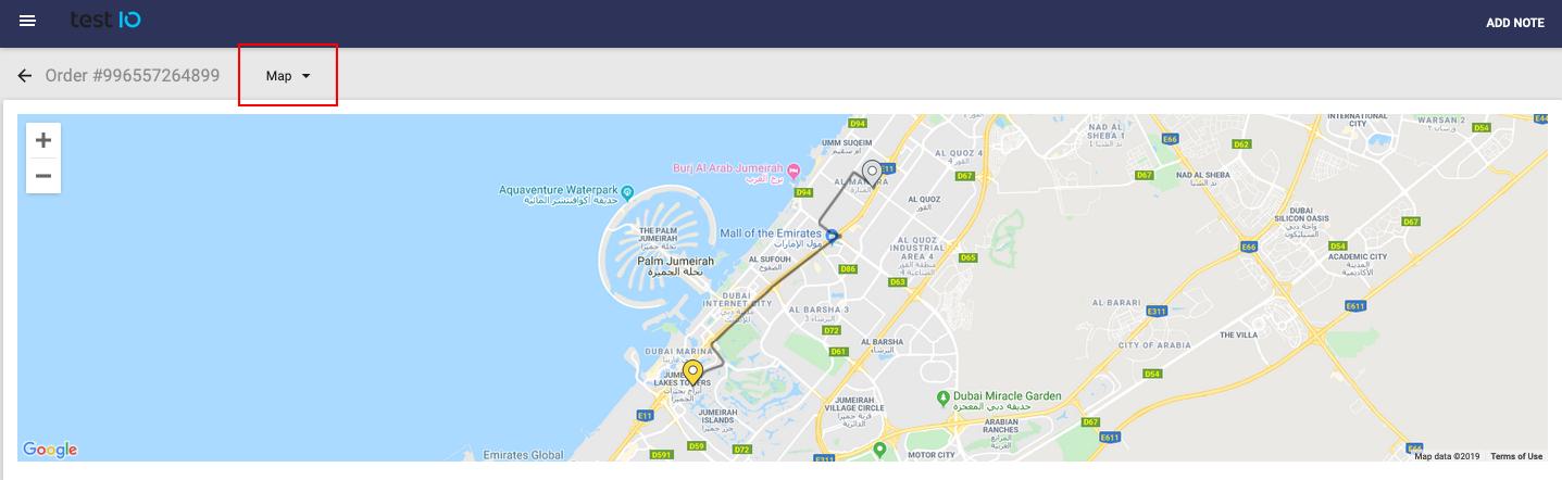Order details & tracking