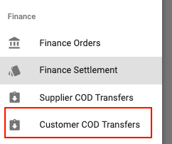 Finance Settlements